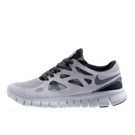 Nike Free Run Plus 2 Grey мужские кроссовки