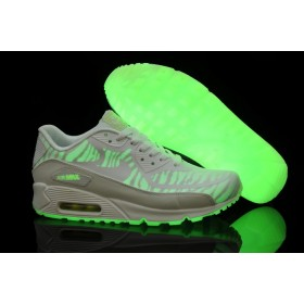 "Nike Air Max 90 ""Glow in the dark"" White женские кроссовки"