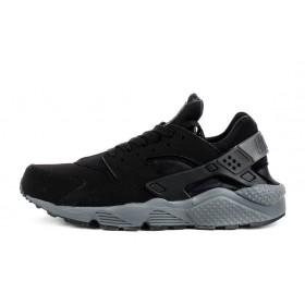 Nike Huarache Grey And Black мужские кроссовки