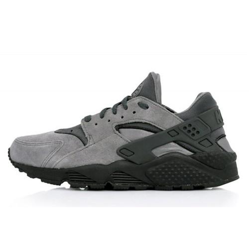 Nike Huarache Grey Suede мужские кроссовки