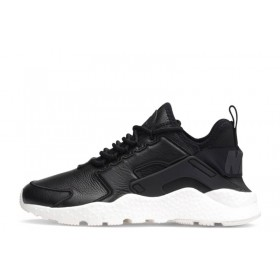 Nike Air Huarache Run Ultra SI Leather Black мужские кроссовки