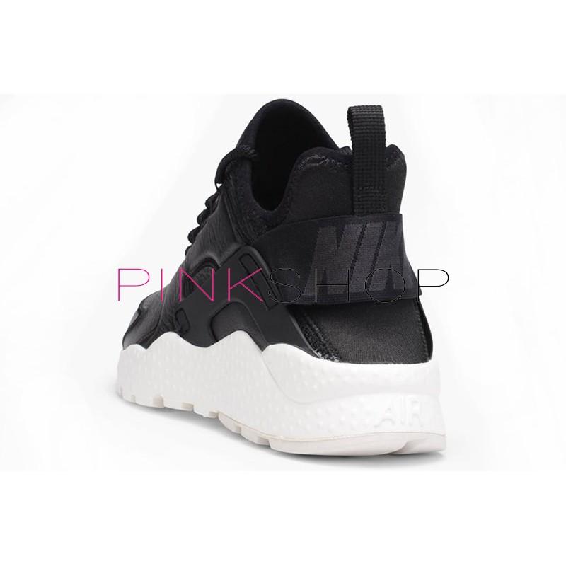 efe742d1 Nike Air Huarache Run Ultra SI Leather Black купить мужские кроссоки ...