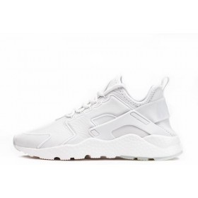 Nike Air Huarache Run Ultra SI Leather White мужские кроссовки