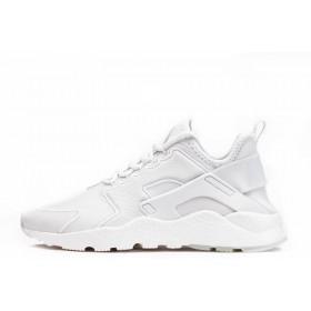 Nike Air Huarache Run Ultra SI Leather White мужские кроссовки
