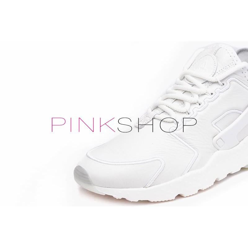 b151ae9e Nike Air Huarache Run Ultra SI Leather White купить мужские кроссоки ...