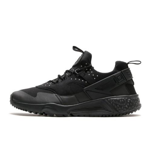 Nike Huarache Utility All Black мужские кроссовки