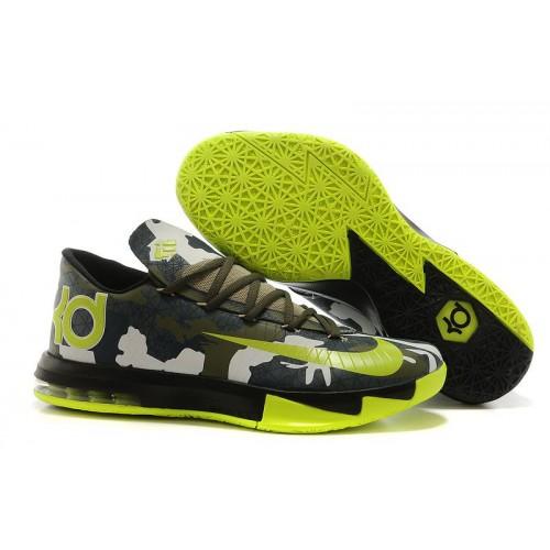 Nike KD 6 Camo мужские кроссовки