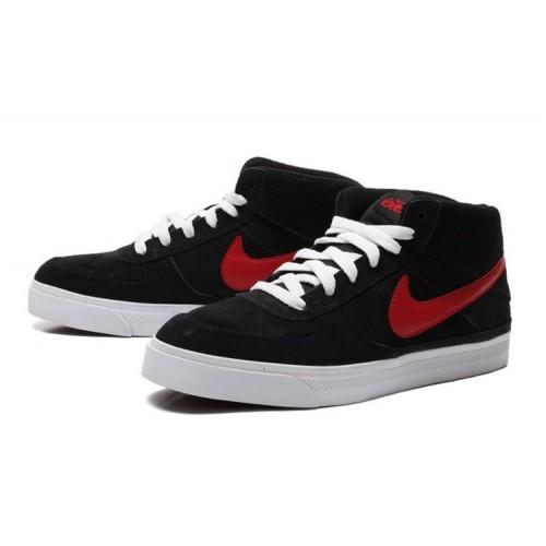Nike 6.0 Mavrk Mid 2 Black Red мужские кроссовки