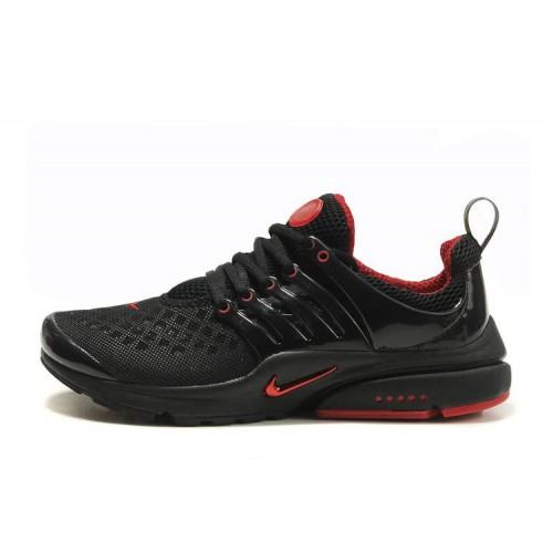Nike Air Presto Black Red мужские кроссовки