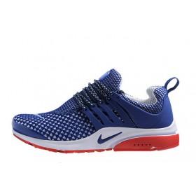 Nike Air Presto TP QS Flyknit Blue мужские кроссовки