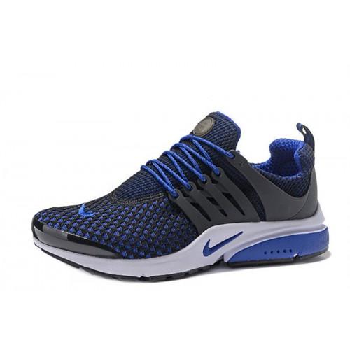 Nike Air Presto TP QS Flyknit Blue Black мужские кроссовки