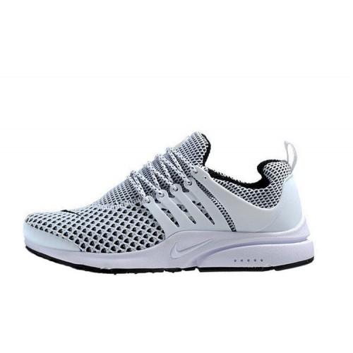 Nike Air Presto TP QS Flyknit White мужские кроссовки