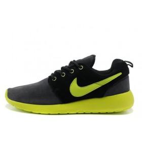 Nike Roshe Run II Black Green мужские кроссовки