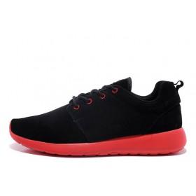 Nike Roshe Run II Black Red мужские кроссовки
