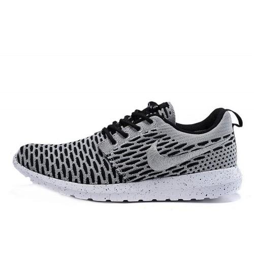 b6afbef6 Nike Roshe Run Flyknit London Grey мужские кроссовки Найк купить в ...