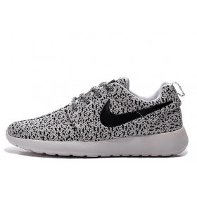Nike Roshe Run Flyknit Turtle Grey мужские кроссовки
