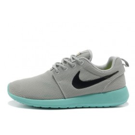 Nike Roshe Run Grey Mint мужские кроссовки