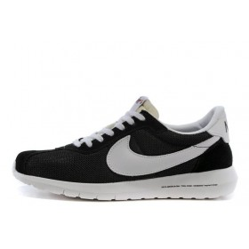 Nike Roshe Run LD Black White мужские кроссовки