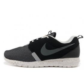 Nike Roshe Run NM BR Black мужские кроссовки