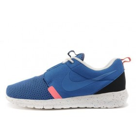 Nike Roshe Run NM BR Blue мужские кроссовки