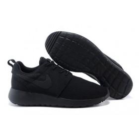 Nike Roshe Run Black мужские кроссовки