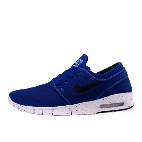 Nike SB Stefan Janoski Max Blue Black мужские кроссовки