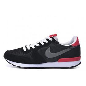 Nike Internationalist Black Red мужские кроссовки