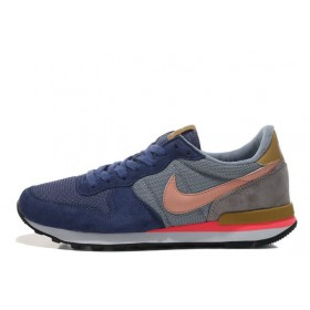 Nike Internationalist Blue Orange мужские кроссовки