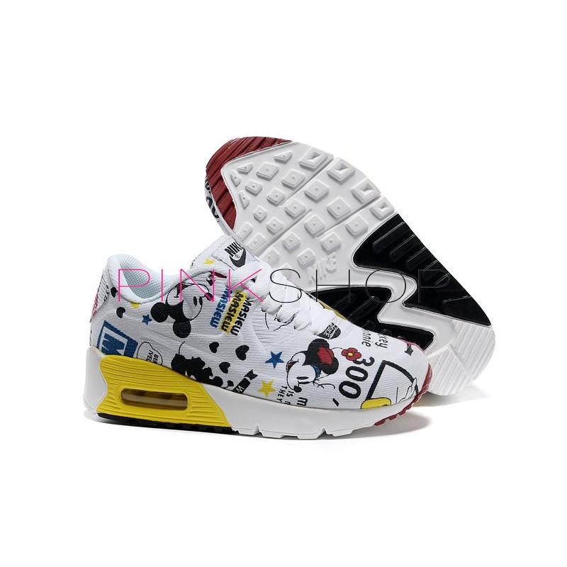 Детские кроссовки Nike Air Max 90 Cartoon купить в Киеве 8b8ae3327f4ad