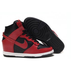 Nike Sneakers Dunk Sky Red Black женские кроссовки