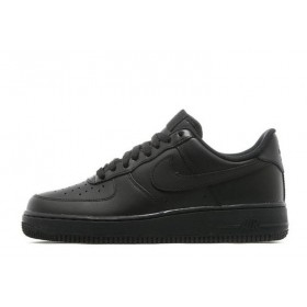 Nike Air Force Low Black женские кроссовки