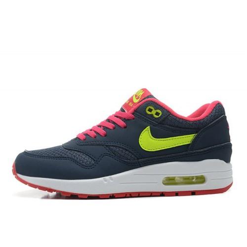 Nike Air Max 87 Navy Pink женские кроссовки