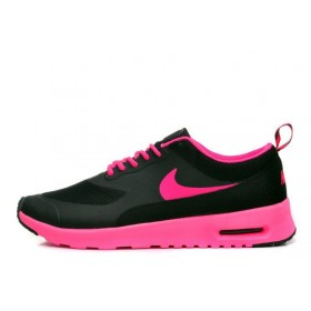 Nike Air Max Thea Black Ultra Pink женские кроссовки