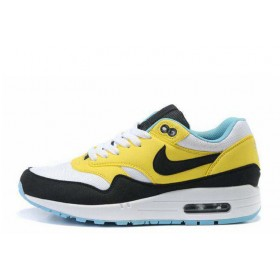 Nike Air Max 87 Yellow Black женские кроссовки