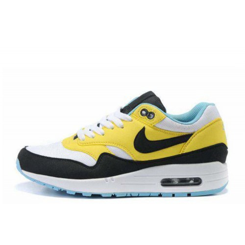 Nike Air Max 87 Yellow Black женские АирМаксы