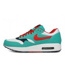 Nike Air Max 87 Green Red Blue женские кроссовки