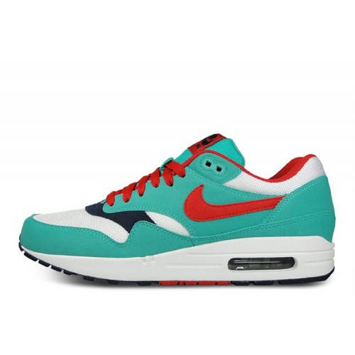 Nike Air Max 87 Green Red Blue женские АирМаксы