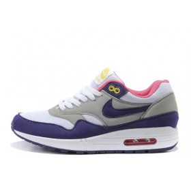 Nike Air Max 87 Grey Pink Purple женские кроссовки