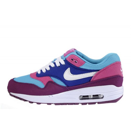 Nike Air Max 87 Purple Blue Pink женские кроссовки
