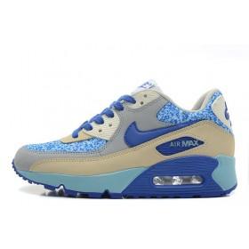 Nike Air Max 90 Blue White женские кроссовки