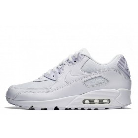Nike Air Max 90 Essential Triple White женские кроссовки