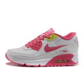 Nike Air Max 90 White Pink женские кроссовки
