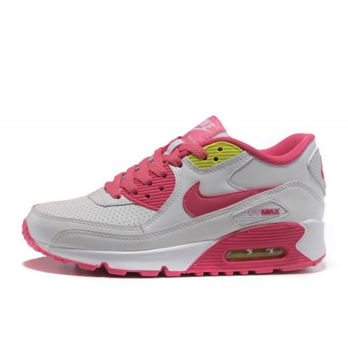 Nike Air Max 90 White Pink женские кроссовки