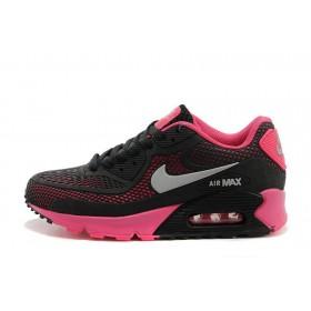 Nike Air Max 90 GL Black Pink женские кроссовки