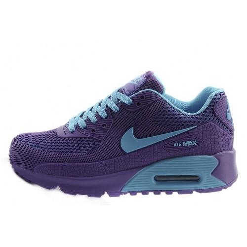 Nike Air Max 90 Gl Purple Blue женские АирМаксы