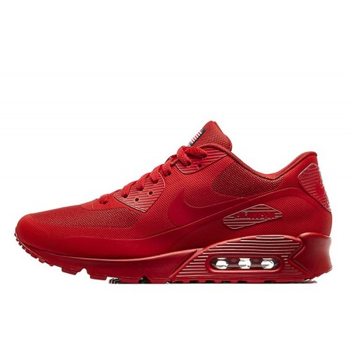 Nike Air Max 90 Hyperfuse USA Red женские кроссовки