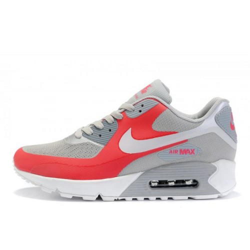 Nike Air Max 90 Hyperfuse Pink Grey женские АирМаксы