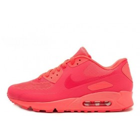 Nike Air Max 90 Hyperfuse Pink женские кроссовки