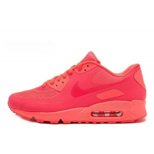 Nike Air Max 90 Hyperfuse Pink женские АирМаксы