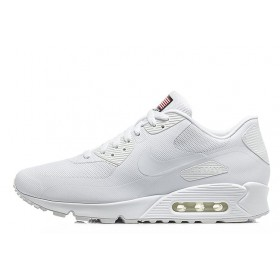 Nike Air Max 90 Hyperfuse USA White женские кроссовки